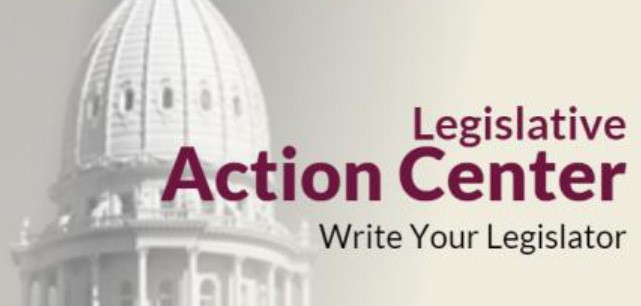 Legislative Action Center Button